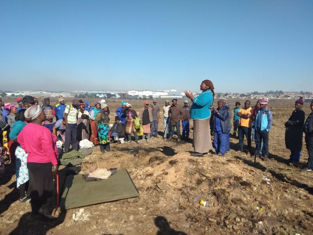 In South Africa, Abahlali baseMjondolo organizes shack dwellers into  locally based, direct democratic assemblies. Photo: Enough is Enough